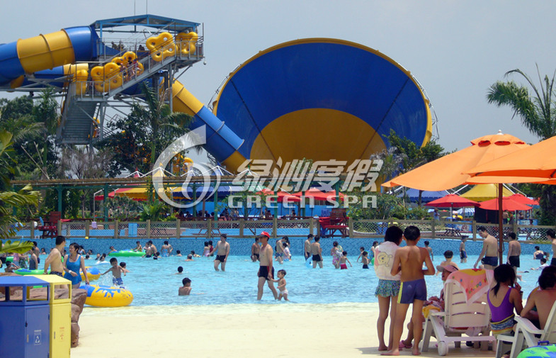 Customized Colorful Tornado Water Slide for Fiberglass Safety Spray Park Equipment